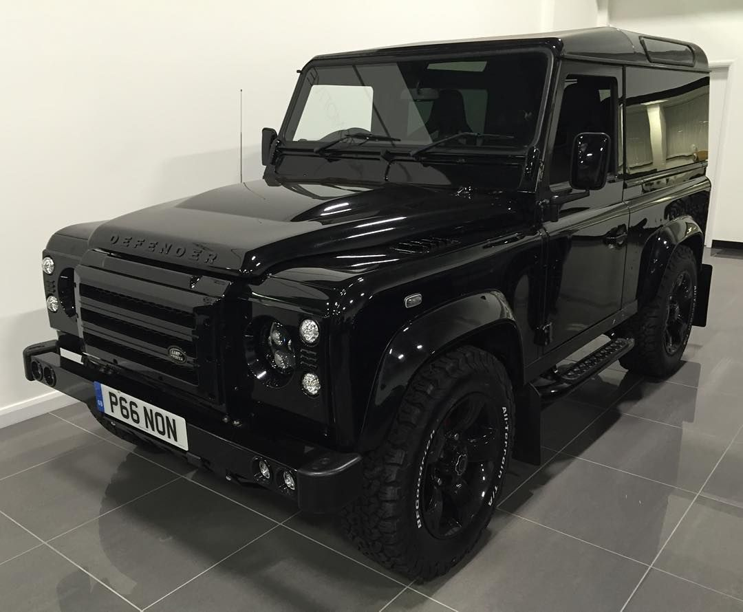 This Prime Specimen Is A 2010 Defender 90 Stationwagon That Has Been