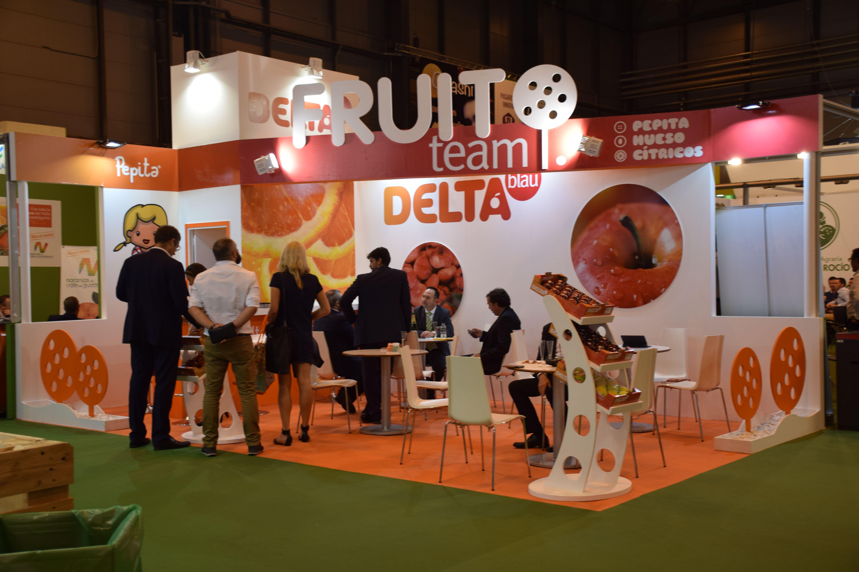 Fruitattraction 16 Stand Delta Blau Stands Ferias Stand Publicitario Evento