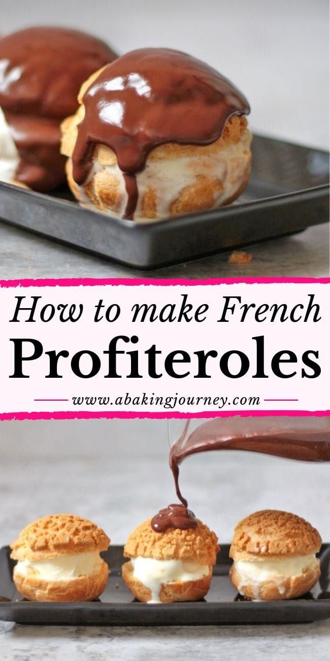 Photo of How to make French Profiteroles