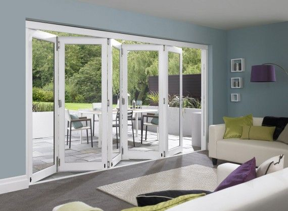 Master White 3 6m Approx 12ft Bifold Doors External Bifold Doors White Bifold Doors Patio Doors