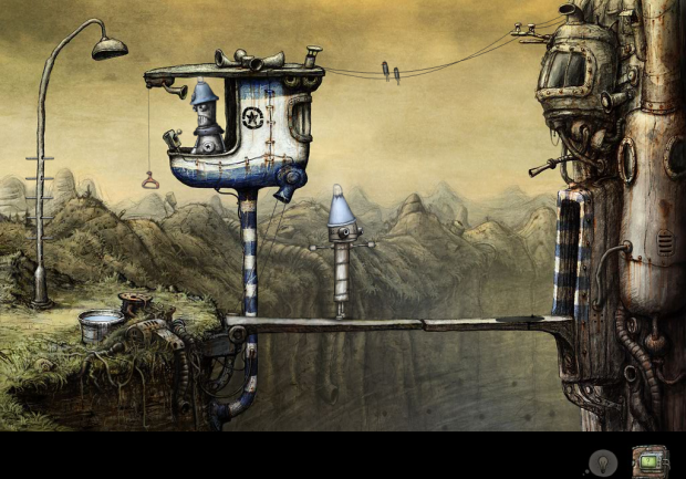 Machinarium - There are rave reviews of this point click adventure game. iPad