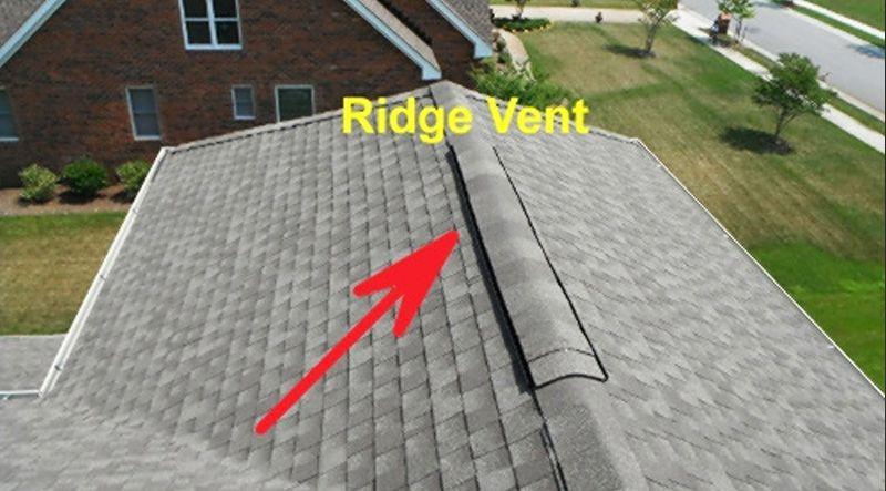 Installing A Roof Ridge Vent In 2020 Ridge Vent Attic Exhaust Fan Attic Fan