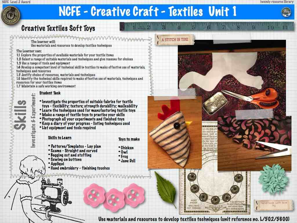 Unit 1 Worksheet Creative Textiles Creative Crafts A Level Textiles