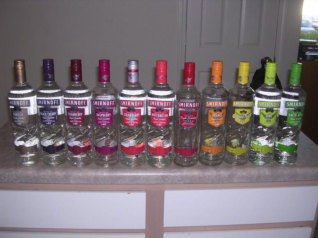 Smirnoff Vodka Flavors gotta represent | drinks R on me... | Pinterest