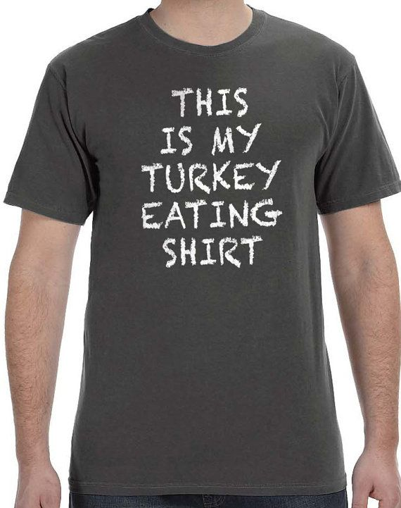 Gift for husband This is My Turkey Eating Shirt Mens T by ebollo