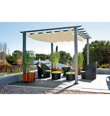 Pérgola De Aluminio Excelence Villa Pinterest Pergolas