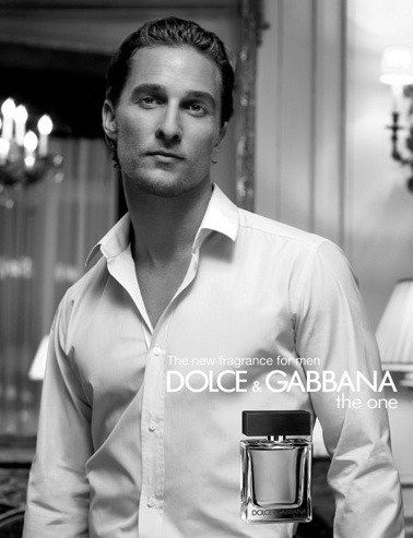 Matthew McConaughey...he may be kinda douche-y, but he's still pretty damn sexy!