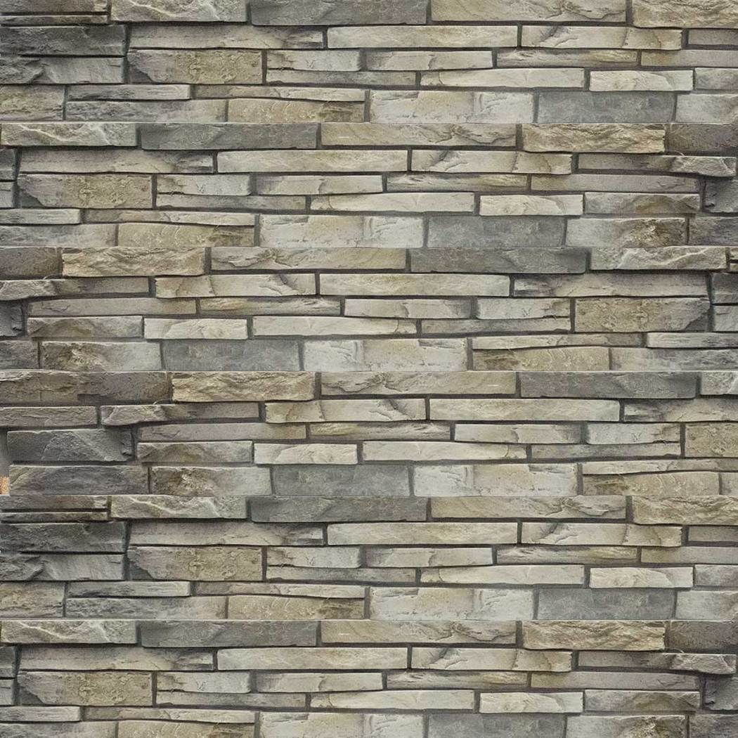 Stacked Stone Home Exterior: Stacked Stone Limestone In 2019