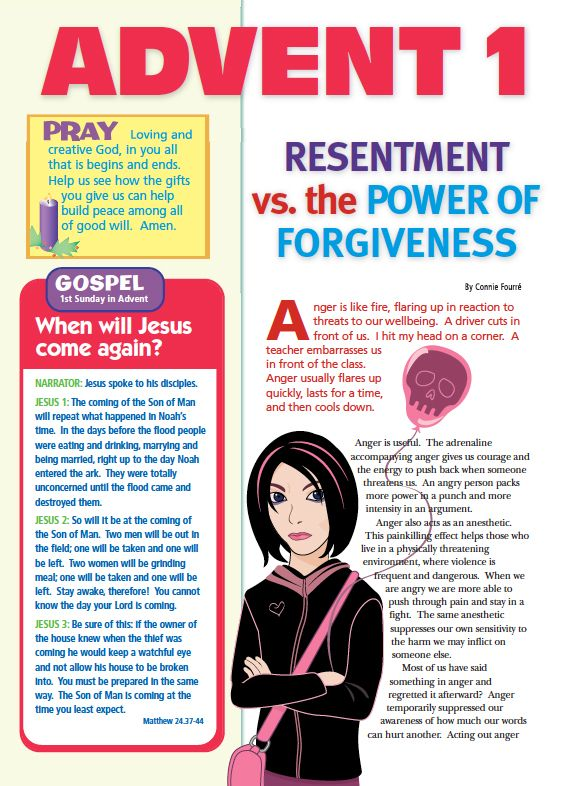 Christian advent activities for teens