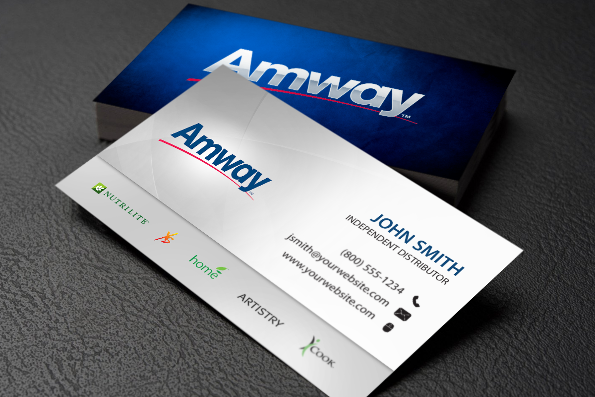 We Have A Great Selection Of Amway Business Cards Mlm Amway Print Paper Graphicdesign Businesscards Contac Amway Business Amway Printing Business Cards