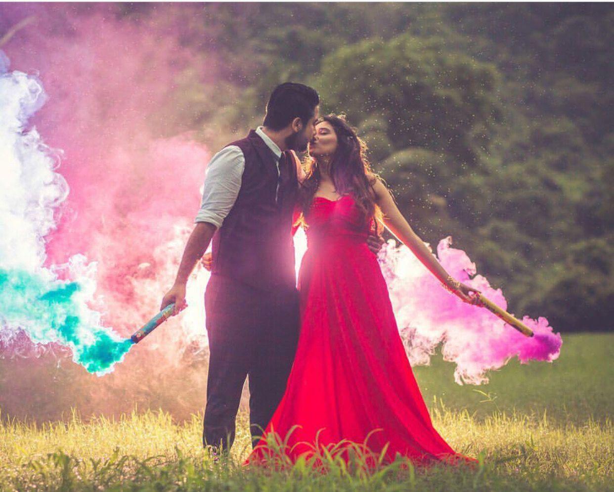 Creative Pre wedding photoshoot outdoor, Wedding
