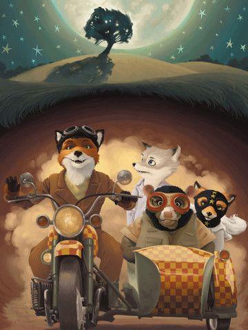 Fantastic Mr. Fox! by Kelly Perry inspired by Fantastic Mr. Fox