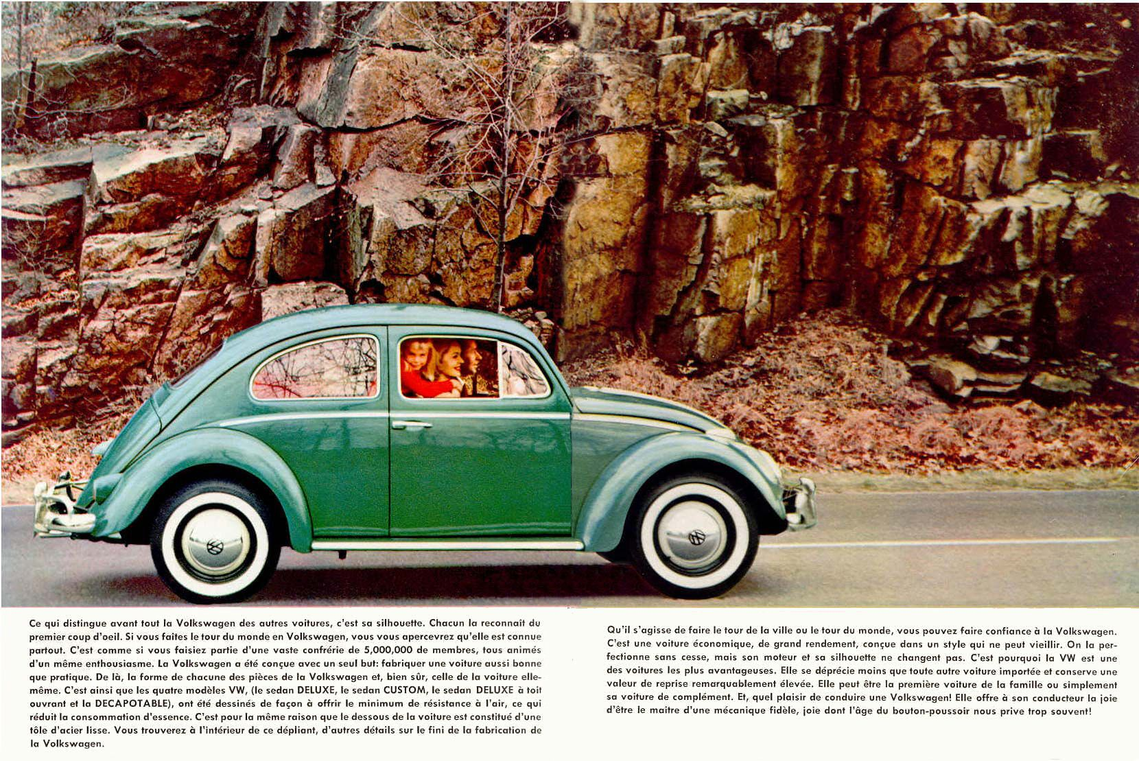 VW Beetle Canada brochure page 2 Vw classic, Volkswagen