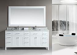 78 London Dec088 W Double Sink Vanity Set Bathroomremodel