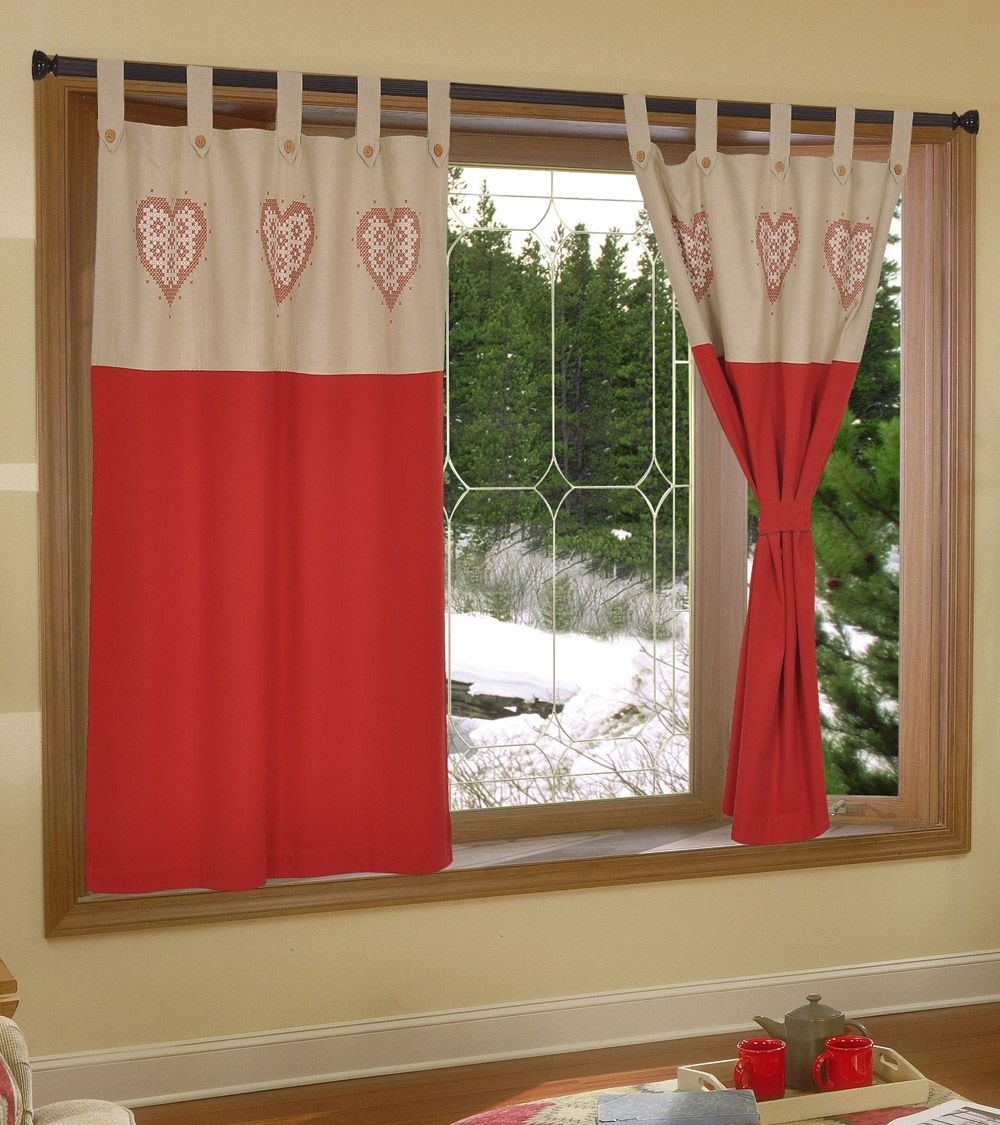 Red Cotton Door Curtain Indianroots Homedecor Curtain