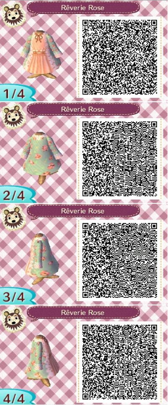 Animalsandmacarons This Cute Qr Code Gives Me Life I Swear It S My Favorite Print Blue And Pink Floral O Animal Crossing Animal Crossing 3ds Acnl Qr Codes