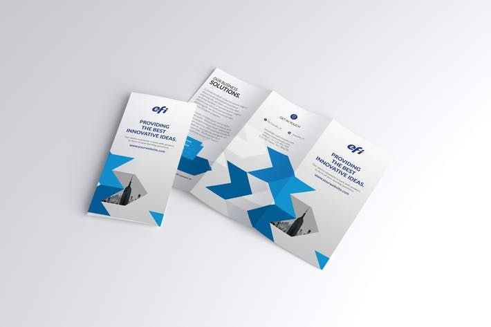 trifold brochure by graphix_shiv design inspiration ideas pinterest brochures and template