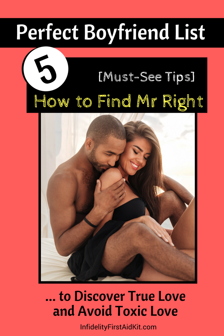 how to know if you are dating mr right