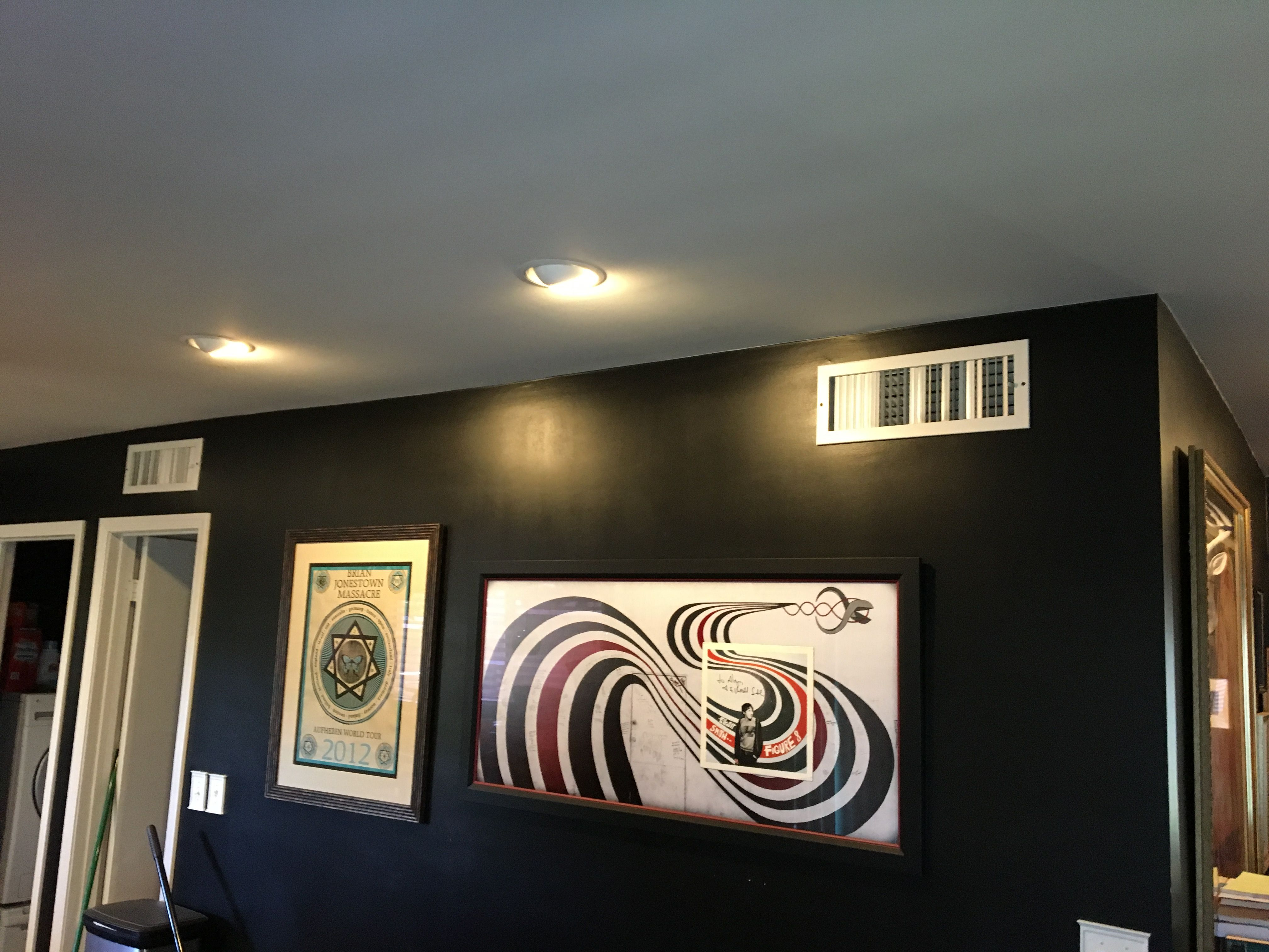 Installed recessed lighting, Phillips Hue lighting for customer with ...