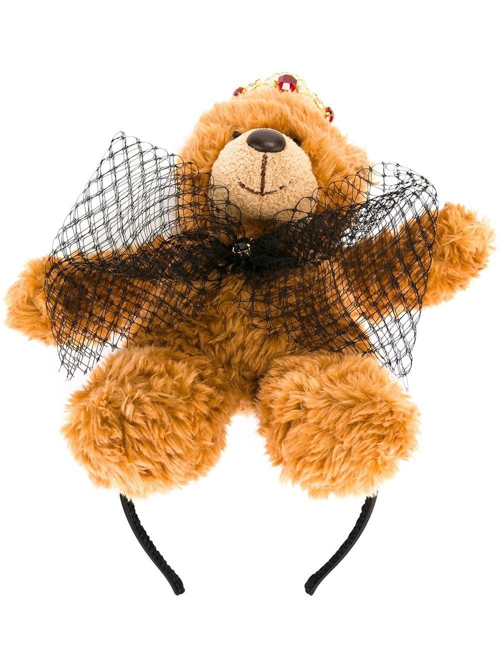 Dolce & Gabbana teddy bear hair band