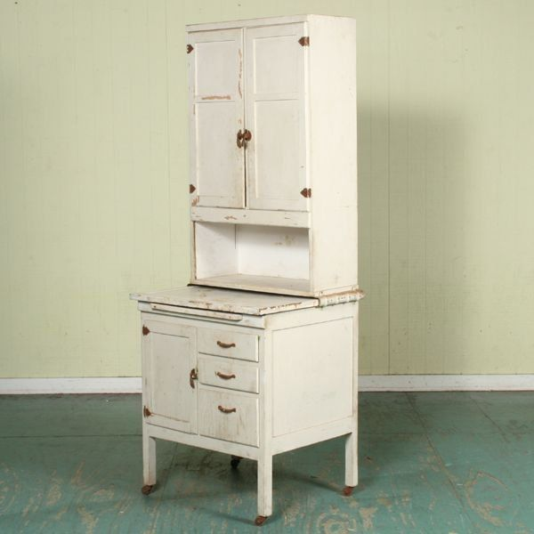 Best 1193 Unusual Small Early 1900 Hoosier Cabinet 27 W D 400 x 300