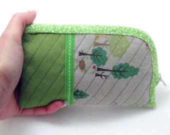 DIY My Little Forest Pouch,Iphone case, PDF Sewing pattern, Tutorial, Instant download - Edit Listing - Etsy