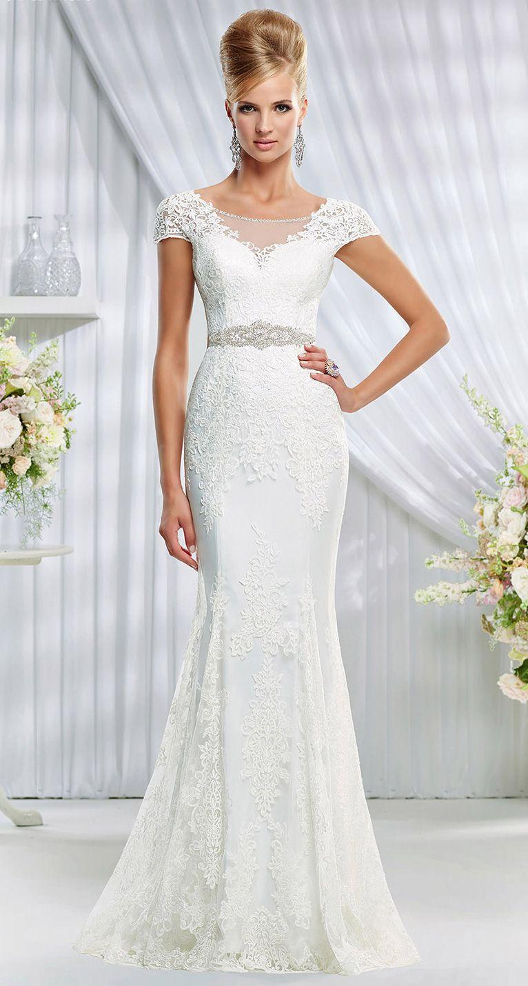 Wedding Dresses for Older Brides | Pinterest | Ronald joyce, Elegant ...