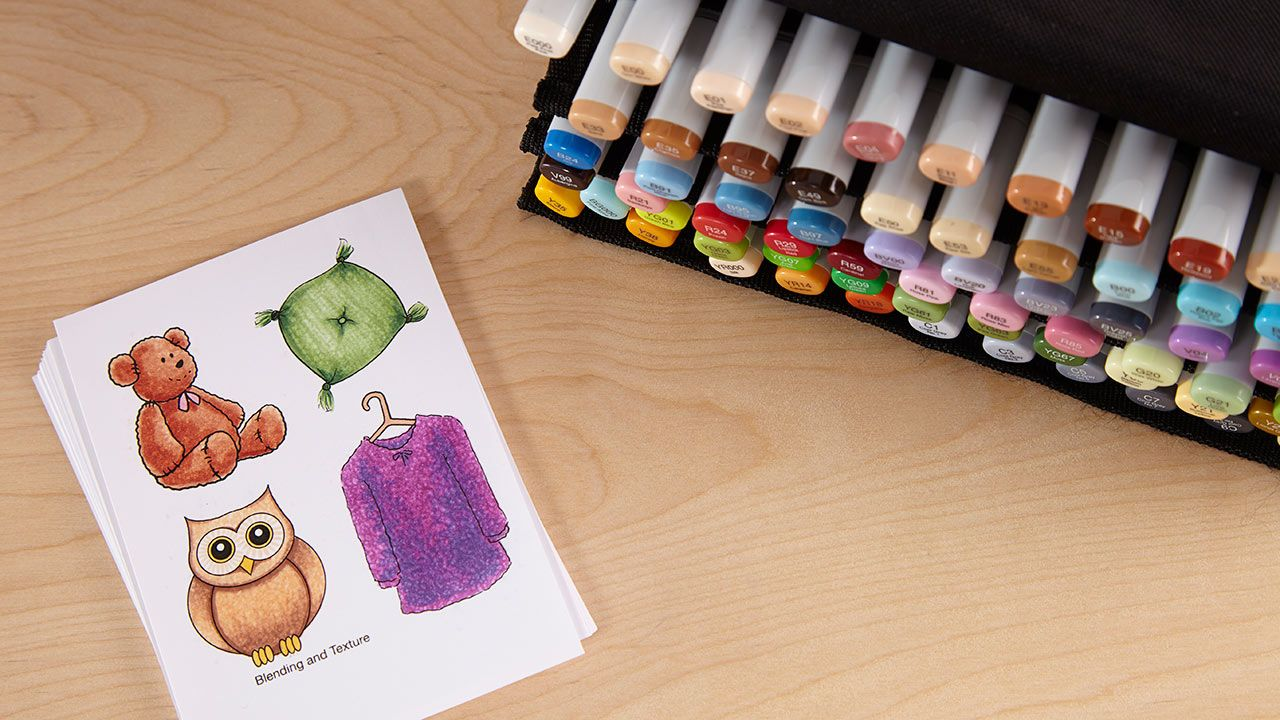 Copic classes copic alcohol markers copic coloring