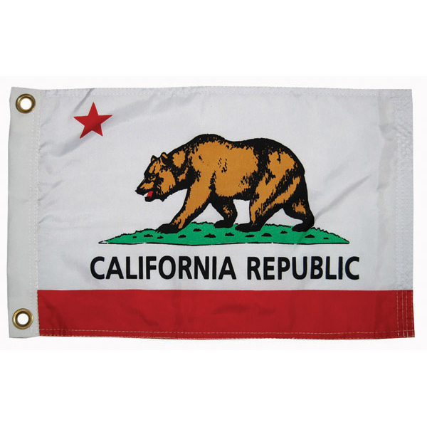 Taylor Made California State Flag 12 X 18 West Marine California State Flag State Flags Arizona State Flag