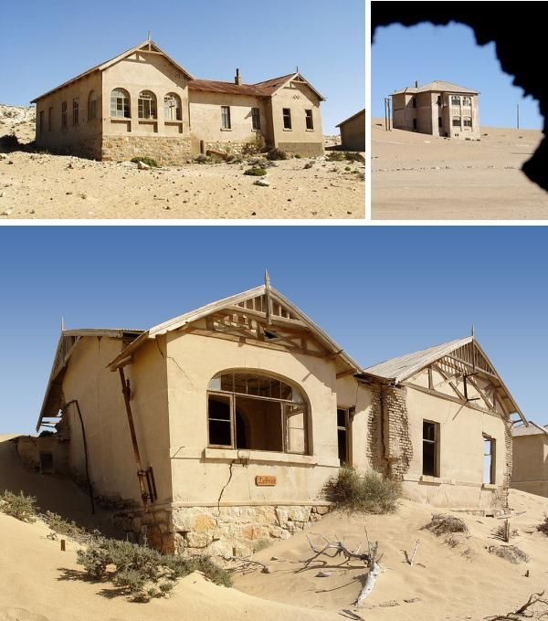 Abandoned Mansions, Farms And Ghost Towns