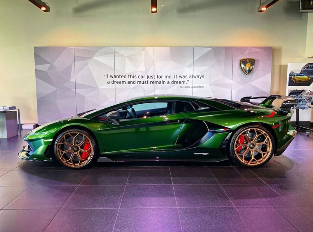 Rate This Green Aventador SVJ 1 to 100 Rate This Green Aventador SVJ 1 to 100
