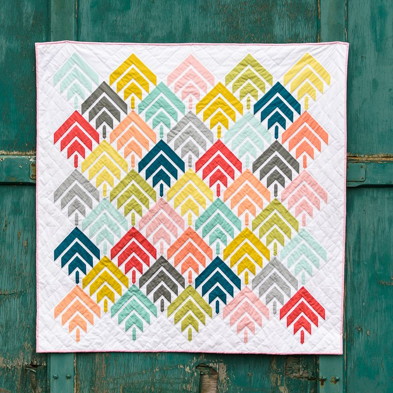 Vote Modern Solids Traditionally Inspired Quilts Needlework Fat