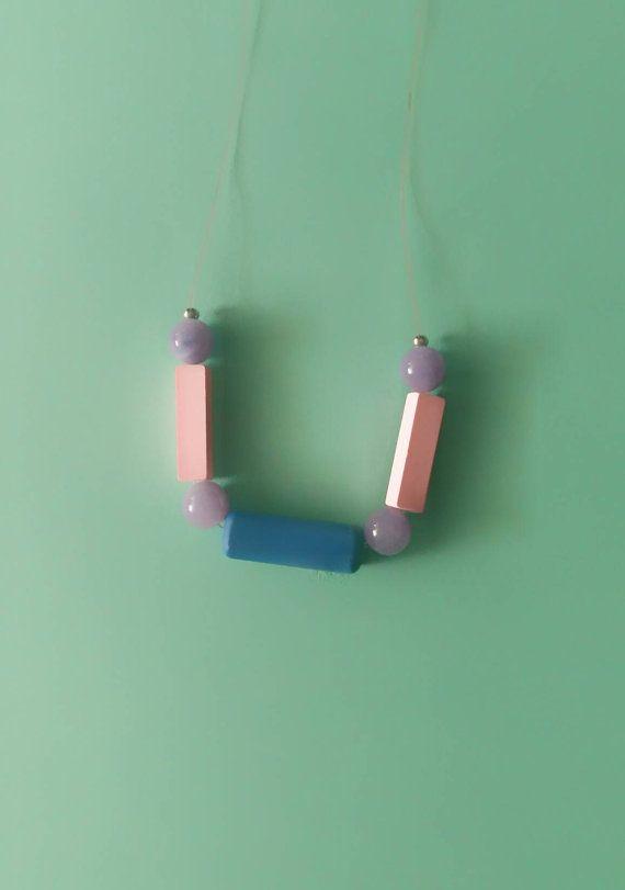 Guarda questo articolo nel mio negozio Etsy https://www.etsy.com/it/listing/483675975/collana-geometrica-minimal-rettangoli
