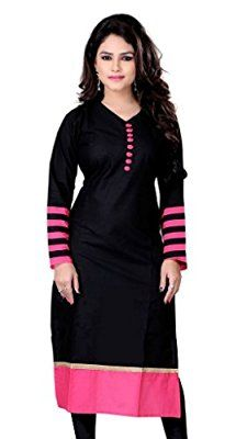 13a3088a2 Kurti Black and Red Worth Rs.1299 for Rs.299 Amazon