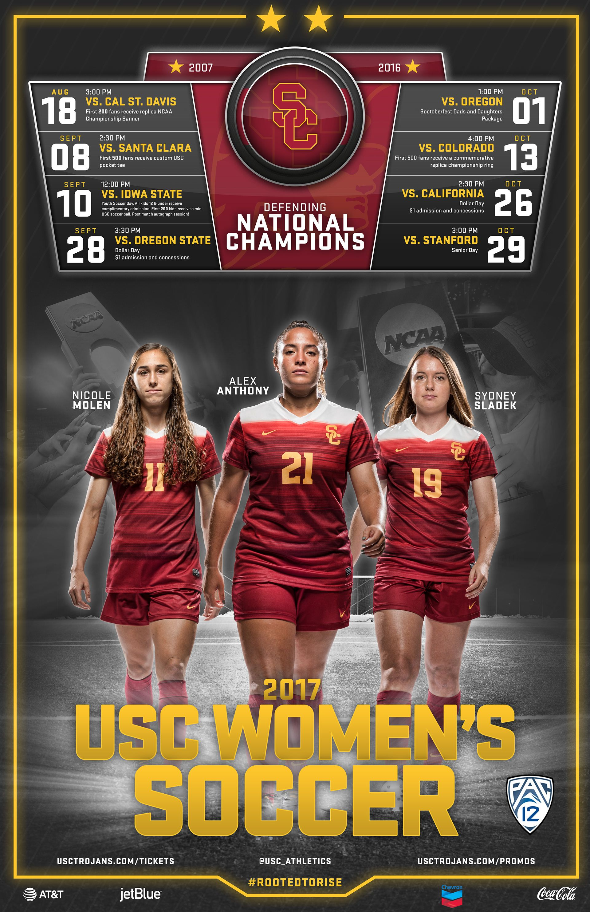 Deliverables For Usc Athletics 2017 Wip In 2020 With Images Usc Athletics College Sports Poster Athlete