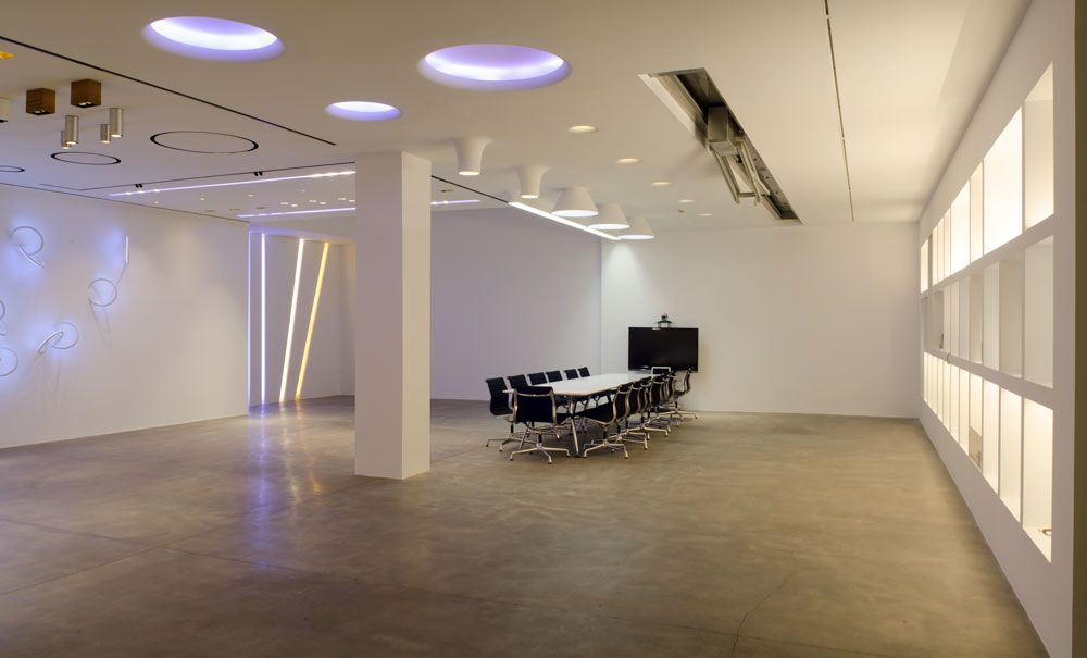 flos architectural showroom at antares in valencia antares