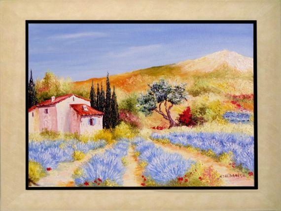 tableau peinture tableaux de provence paysage de provence peintre de provence peinture de. Black Bedroom Furniture Sets. Home Design Ideas