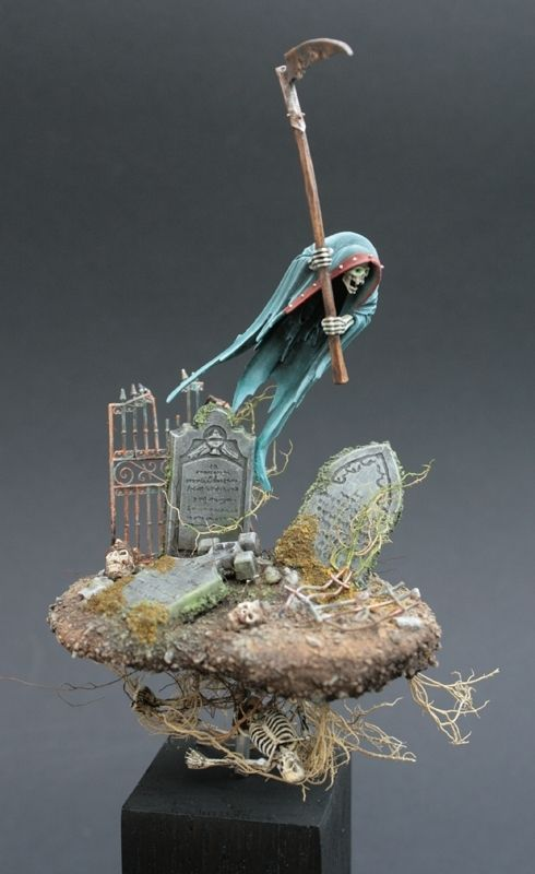Flying Death by Debbie Volquarts · Putty&Paint