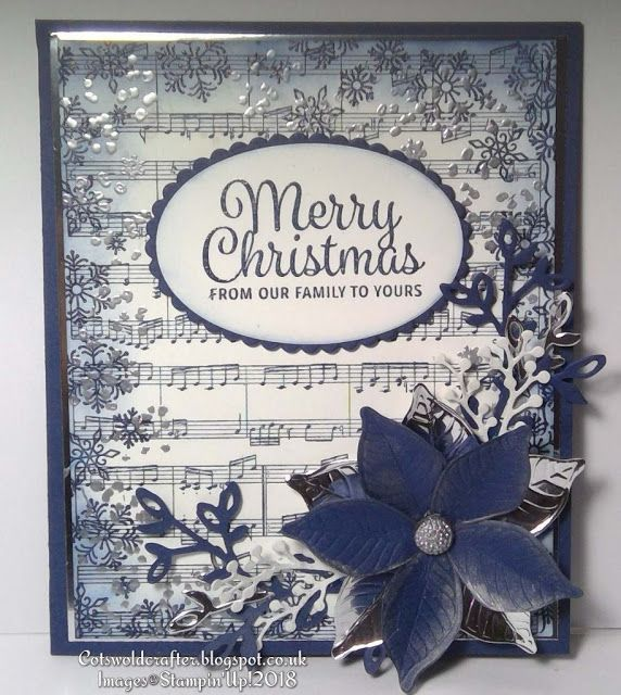 Cotswold Crafter: Something Festive AND Floral Fro Friday