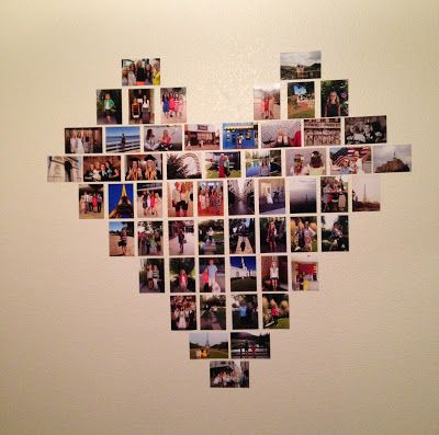 Another Heart Photo Collage This One Uses 34 Portrait Photos And 20