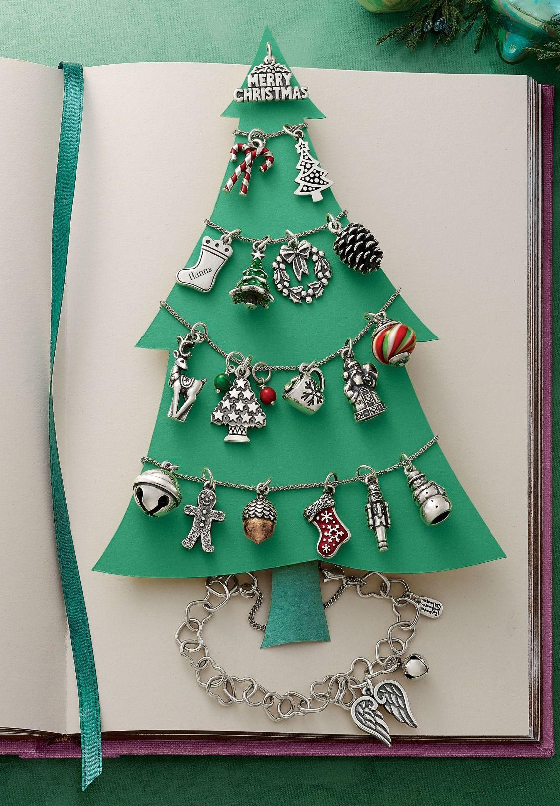Charm Christmas tree pendant gold jewel Ornament necklace Symbol