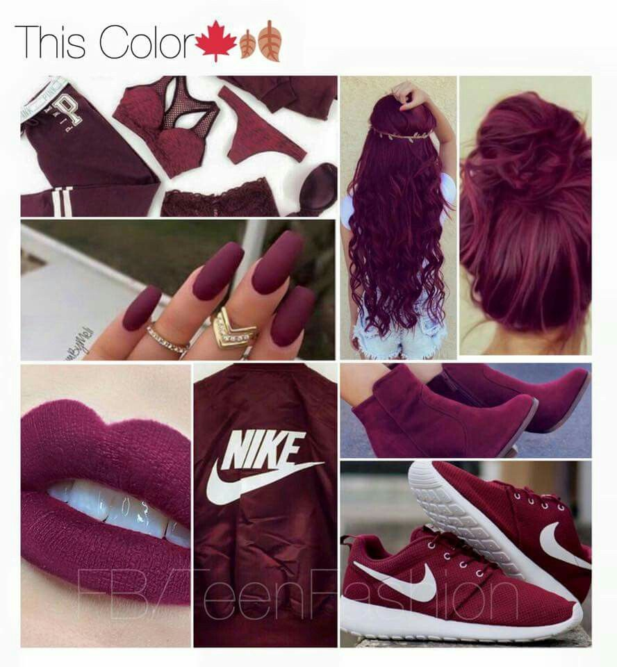 Maroon decor for wedding  The color is been aiming for Not an Aggie but I love maroon  hair
