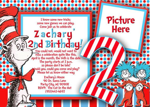 Dr Seuss Thing 1 2 Cat In The Hat By VIVICoutureDesigns 1200