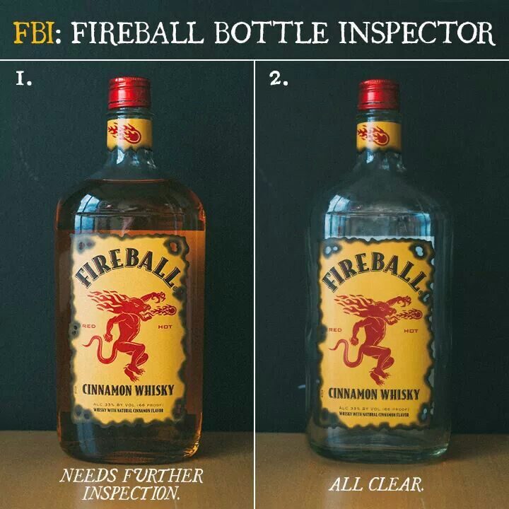 Fireball Inspection Fireball Bottle Whisky Tasting Fireball