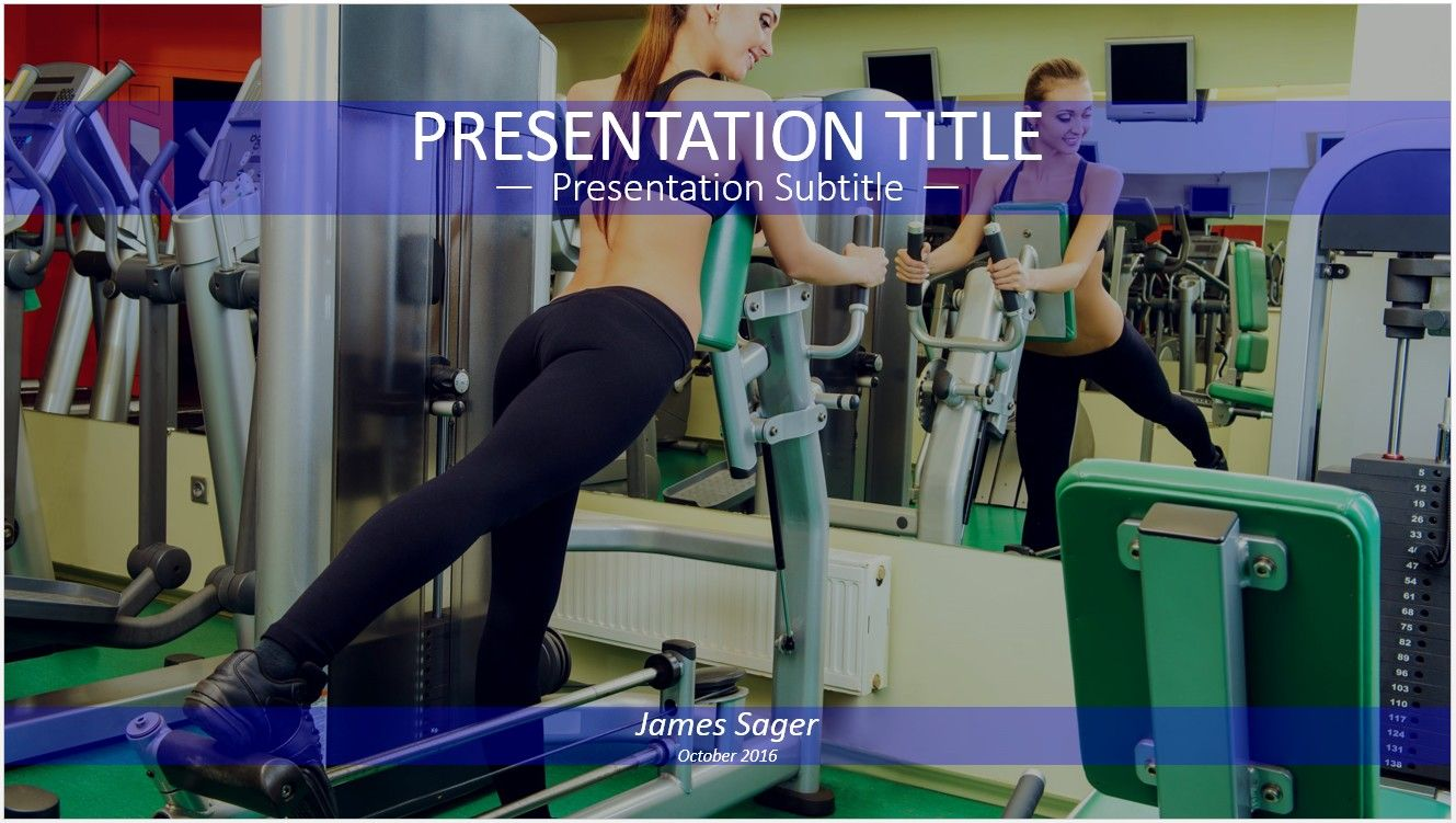 Exercise in gym powerpoint free powerpoint templates pinterest exercise in gym powerpoint toneelgroepblik Images