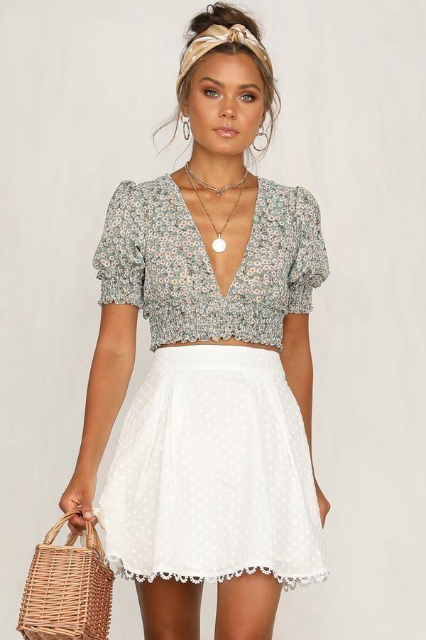 20+ schöne Outfit Ideen für den Sommer