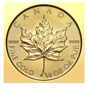 2015 Canadian Gold Maple Leaf Coins 1 4 Oz Goldankauf Haeger De Maple Leaf Gold Gold Bullion Coins Gold Coins