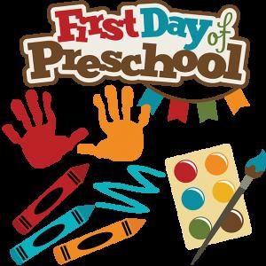 First Day Of Preschool SVG school svg files crayon svg file preschool svg files for scrapbooking