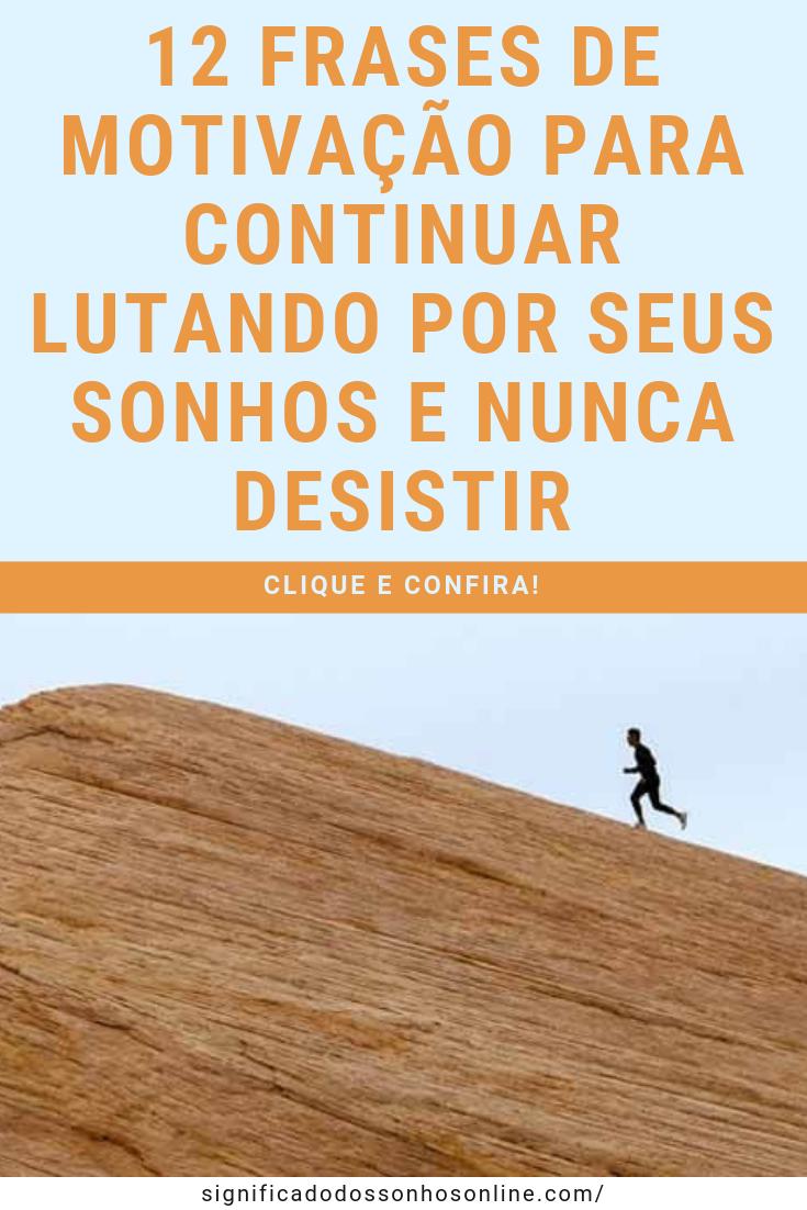 Clique No Pin E Confira 12 Frases De Motivação Para Continuar
