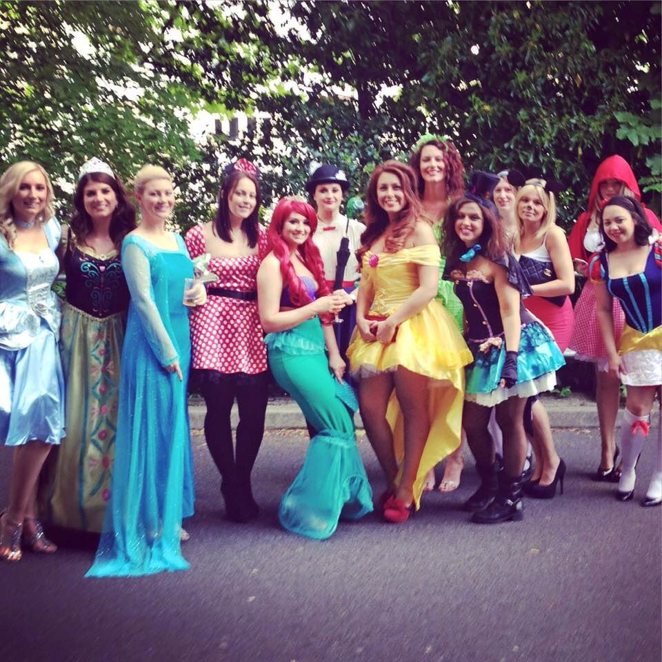 Walt Disney Hen Party Fancy Dress Bachelorette Costumes